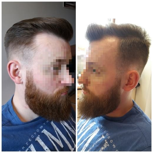 stylizacja męska barber
